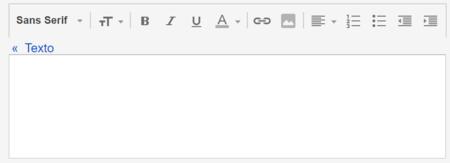 Editor De Textos De Respuestas