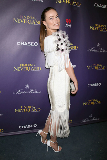Olivia Wilde Marchesa vestido