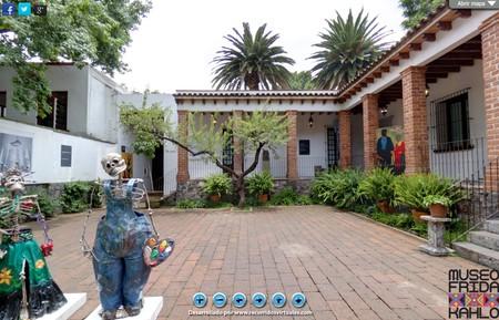 Jardín Casa Azul Frida Kahlo