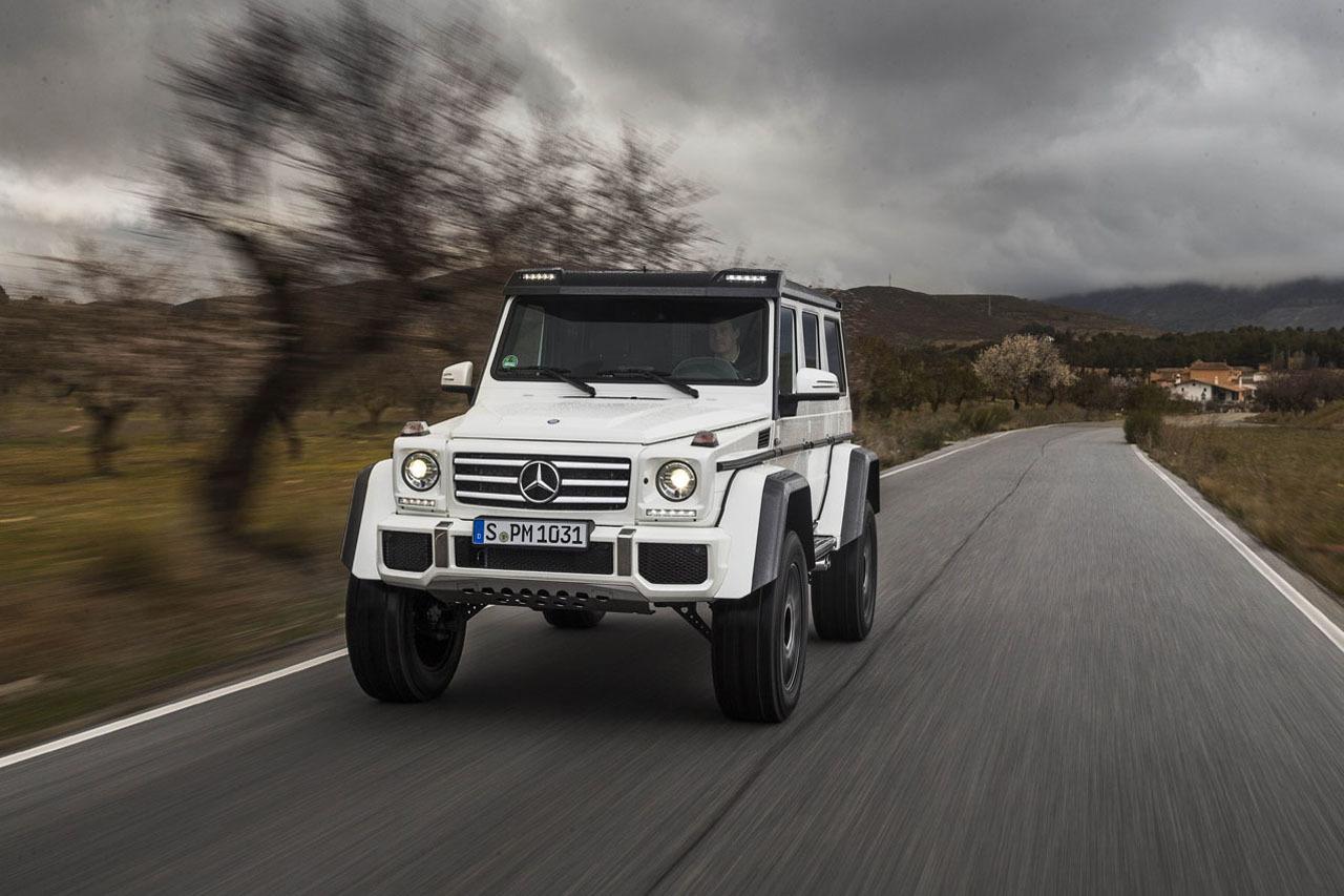 Foto de Mercedes-Benz G 500 4x4², toma de contacto (74/127)