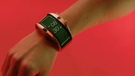 Un smartwatch con pantalla flexible hace realidad un antiguo concepto del Apple Watch