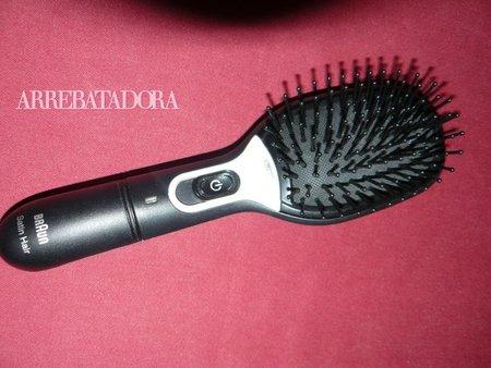 Cepillo Satin Hair antiencrespamiento de Braun, mi experiencia
