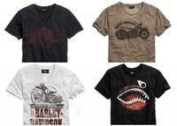 Nueva línea de camisetas vintage Harley-Davidson
