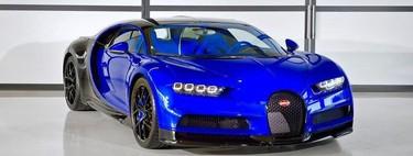 El primer Bugatti Chiron Sport sale de las líneas de producción vestido de una forma muy llamativa
