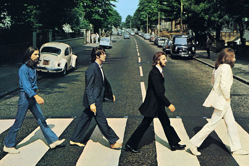 50 años de la fotografía de Abbey Road de The Beatles