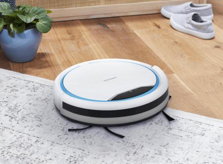ALDI también lanza un robot aspirador económico: tiene navegación inteligente y se controla con un mando a distancia
