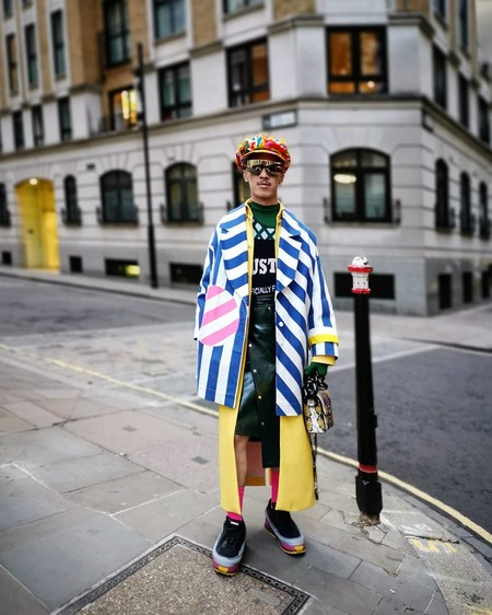 London Fashion Week Mens Street Style 2020 16