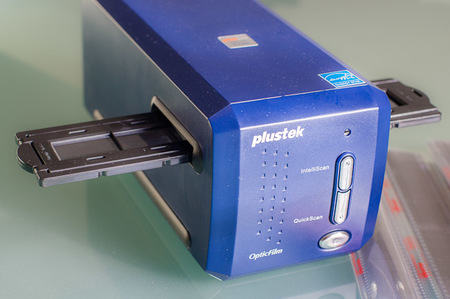 Plustek OpticFilm 8100, análisis