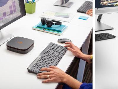 Este mininiordenador de HP se amplía con módulos, en él no falta diseño ni potencia
