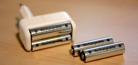 Cargador de pilas de Apple, significado de los indicadores luminosos
