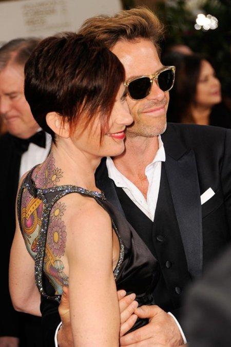 Tatuaje Globos de Oro 2012