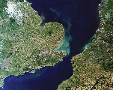 Una gran inundación separó el Reino Unido de Europa