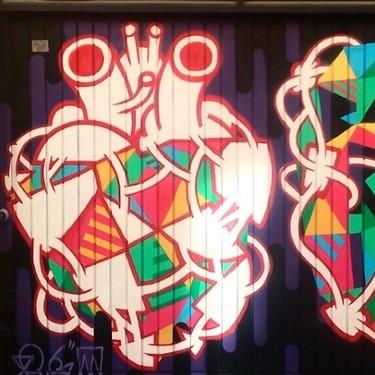Madrid se llena de corazones: ¿una preciosa obra de arte o estamos hablando de bandalismo?