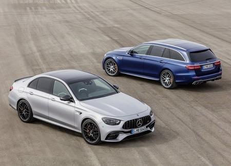 El Mercedes-AMG E 63 4Matic+ 2021 612 hp para dar vueltas rápidas en el circuito sin crear una sola arruga a tu traje