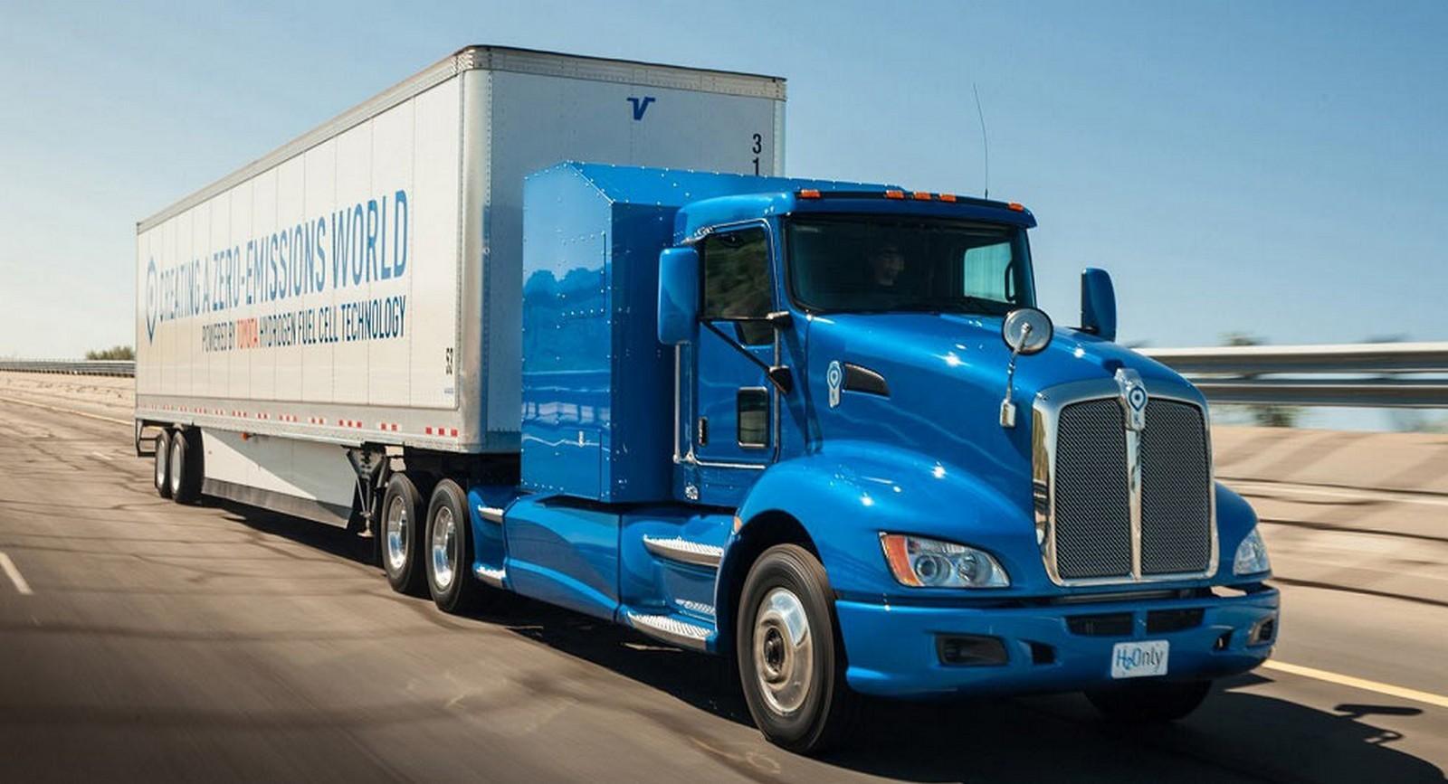 Foto de Camión de Toyota con pila de combustible (11/12)