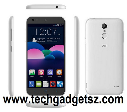 Budget Priced Zte Handset Is Equipped With A Fingerprint Scanner