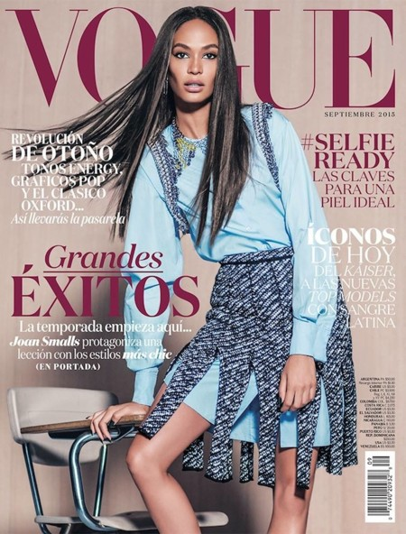 Joan Smalls Vogue Mexico September 2015 Cover01