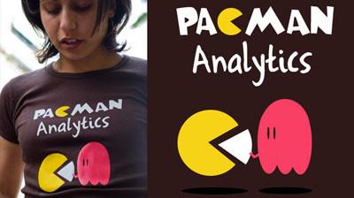 Nueva camiseta en LolaCamisetas: Pacman Analytics