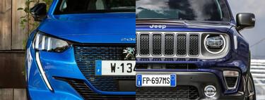 Jeep ya hornea un hermano menor para el Renegade basado en el Peugeot 208