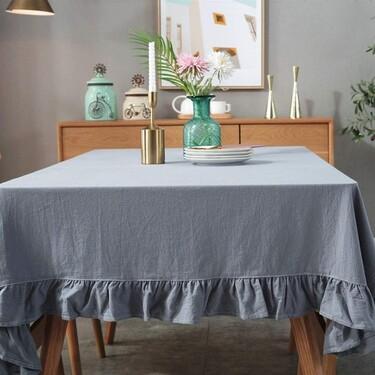 """17 manteles bonitos con los que """"estrenar"""" mesa esta temporada"""