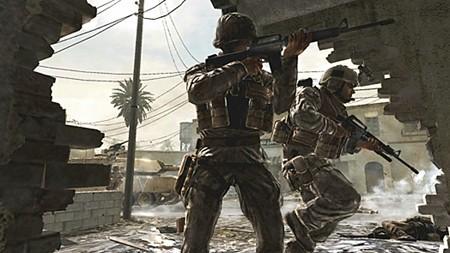 pantallazo de cualquier juego moderno de tiros
