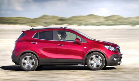 Opel Mokka 2012 vista lateral