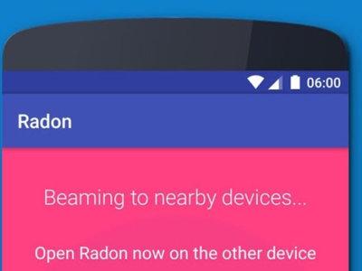 Radon, una app para compartir enlaces mediante ultrasonido