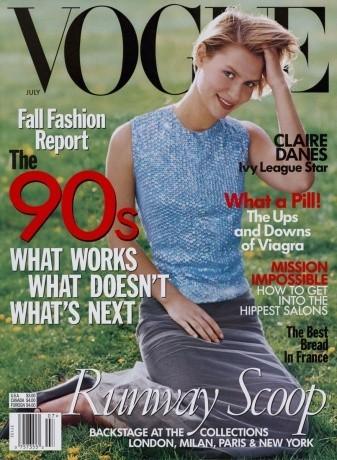 Claire Danes Vogue EEUU 1998