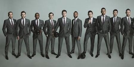 Selección Inglesa por Marks & Spencer