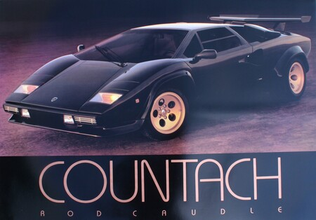 Qué debe tener un póster de coches para que sea el oscuro objeto de deseo de toda una generación