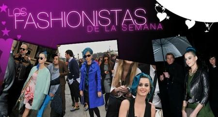 Los Fashionistas de la Semana: Katy Perry, la omnipresente, y demás fauna parisina