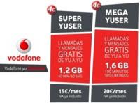 Las nuevas Vodafone yu, ahora también en contrato