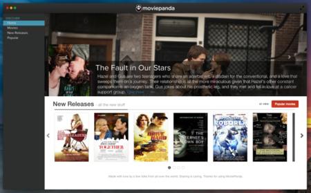 MoviePanda, el modelo PopcornTime mejora con subtítulos y elección de fuentes de vídeo