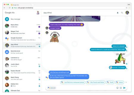 Allo tendrá versión web, ¿será como la de WhatsApp o como la de Telegram?