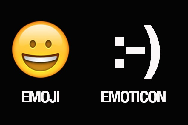 Emoji Vs Emoticon