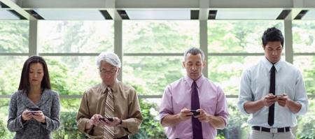 Oficina y Smartphone