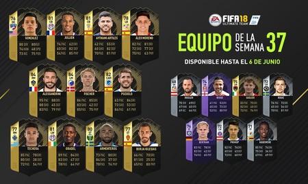 Los jugadores más interesantes del equipo de la semana de FIFA con menos media hasta la fecha