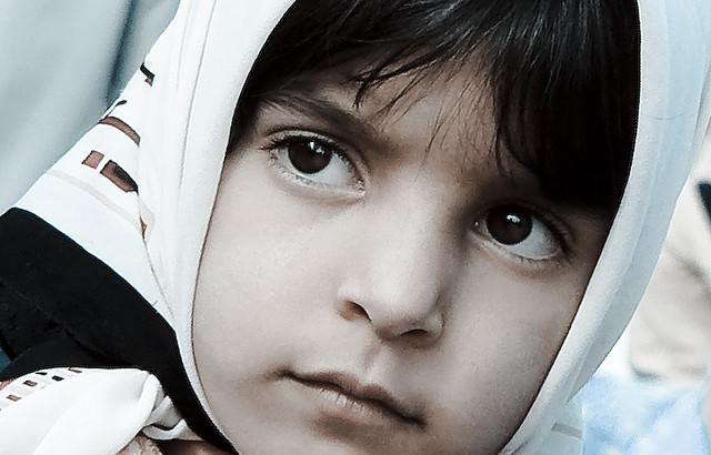 Niña iraní
