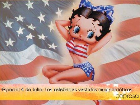 Especial 4 de Julio: Las celebrities vestidas muy patrióticas