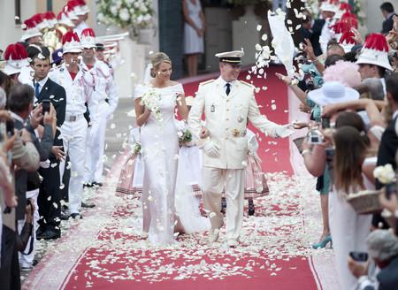 Charlene Wittstock Y Principe Alberto Boda
