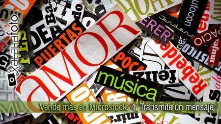 Vende más en microstock: 4.Transmite un mensaje
