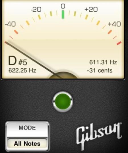 Afinador Gibson