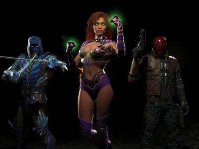Sub-Zero, Starfire y Capucha Roja llegarán a Injustice 2 como personajes de post-lanzamiento