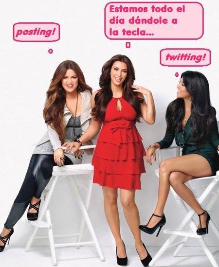 El 'klan Kardashian', una familia de lo más bloguera. El blog de Kim (I)
