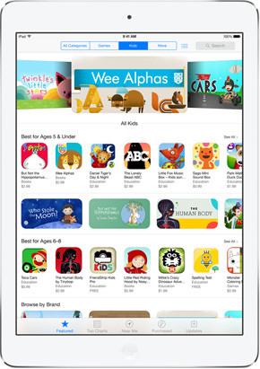 Appstore Apps Kids