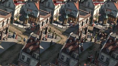 Anno 1800 muestra cómo luce con los gráficos al mínimo, en alto y al máximo en un completo vídeo comparativo