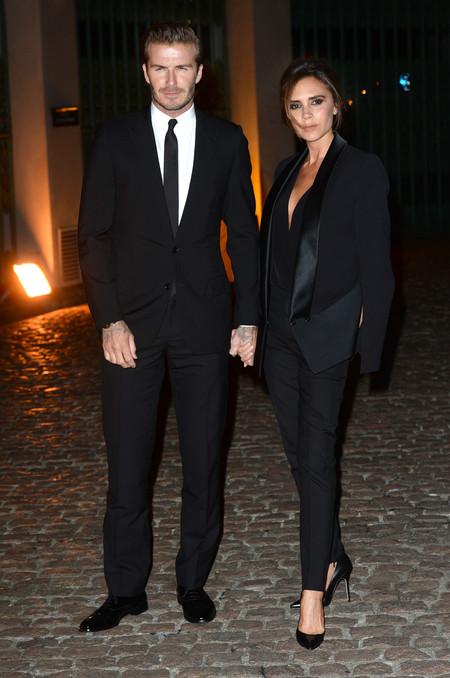 David Y Victoria Beckham 20 Aniversario Boda 2013 2