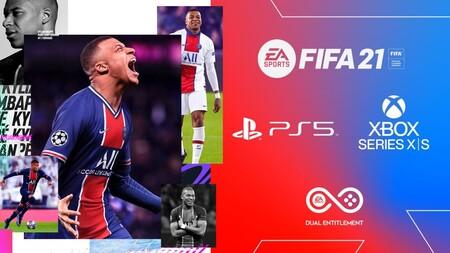 FIFA 21 saldrá en PS5 y Xbox Series X y S en diciembre. La versiones de PS4 y Xbox One se podrán actualizar gratis