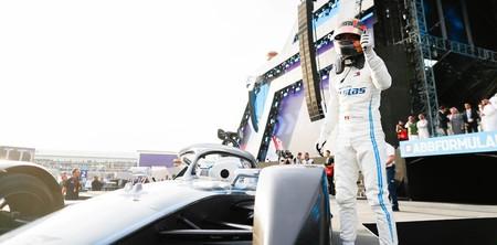 Vandoorne Mercedes Formula E Arabia Saudi 2019