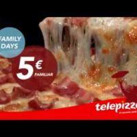 Telepizza repite 'Family Days', ¡6 y 7 de noviembre!